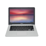 "ASUS Chromebook C301SA-FC032 1.6GHz N3160 13.3"" 1920 x 1080pixels Grey, Silver Chromebook"