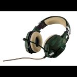 Trust GXT 322C Binaural Diadema Verde