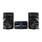 Panasonic SC-PM254EG-S Home audio micro system Silver home audio set