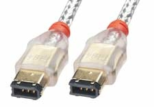 Lindy 0.3m FireWire Cable