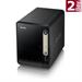 ZyXEL NAS326 Storage server Mini Tower Ethernet LAN Black