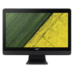 "Acer Aspire C20-220 49.5 cm (19.5"") 1600 x 900 pixels 2 GHz AMD A A6-7310 Black All-in-One PC"