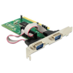 DeLOCK PCI card 2x serial interface cards/adapterZZZZZ], 89003