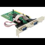 DeLOCK PCI card 2x serialZZZZZ], 89003