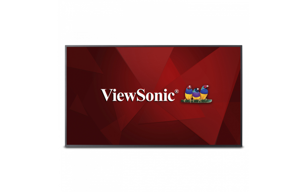 "Viewsonic CDE5010 signage display 127 cm (50"") LED 4K Ultra HD Digital signage flat panel Black"