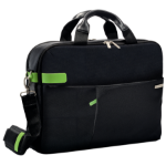 "Leitz Smart Traveller 15.6"" Briefcase Black, Green"