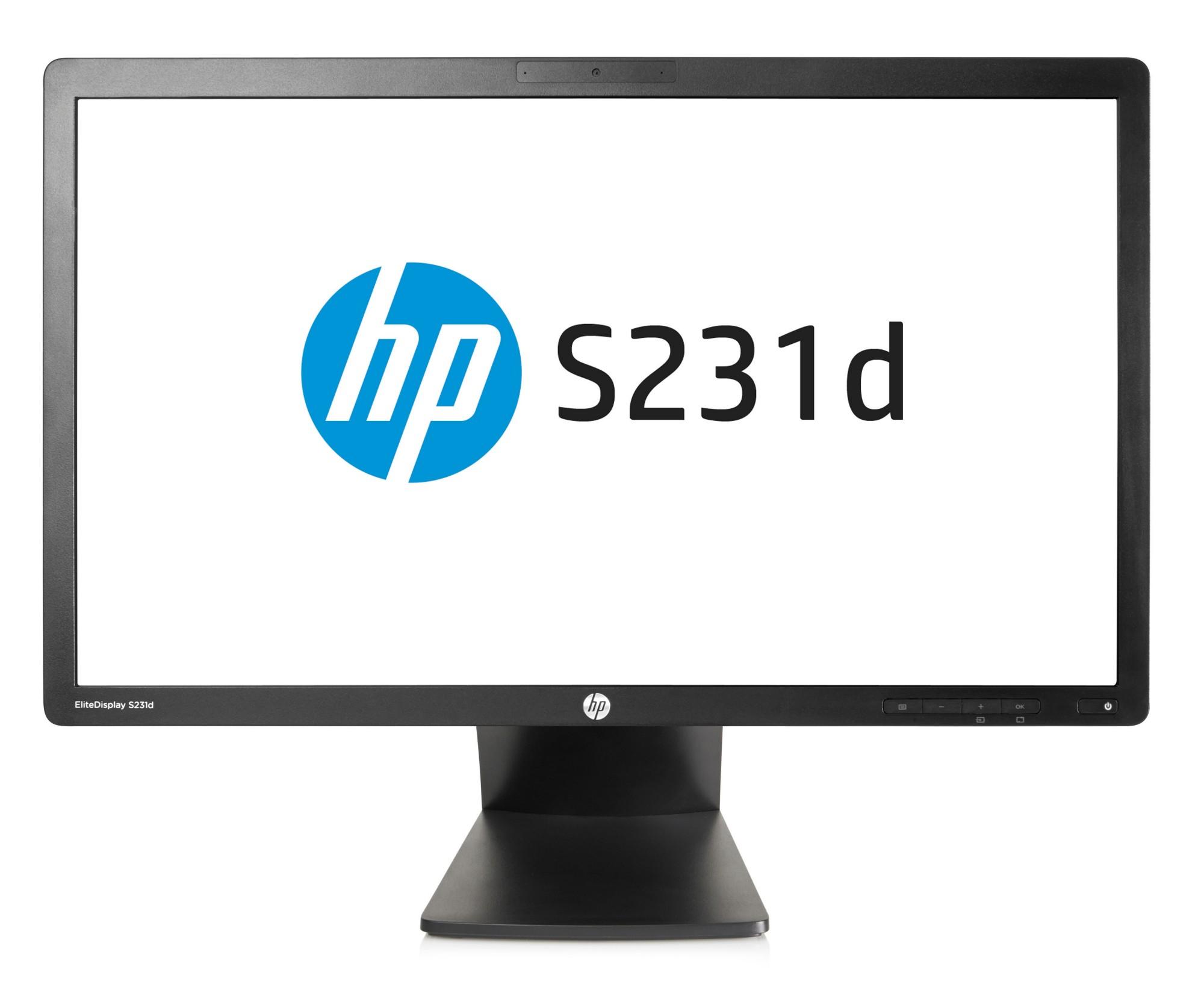 HP EliteDisplay S231d 58,4 cm (23'') IPS LED BLU Notebook Docking Monitor