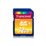 Transcend SD Card SDXC/SDHC Class 10 32GB