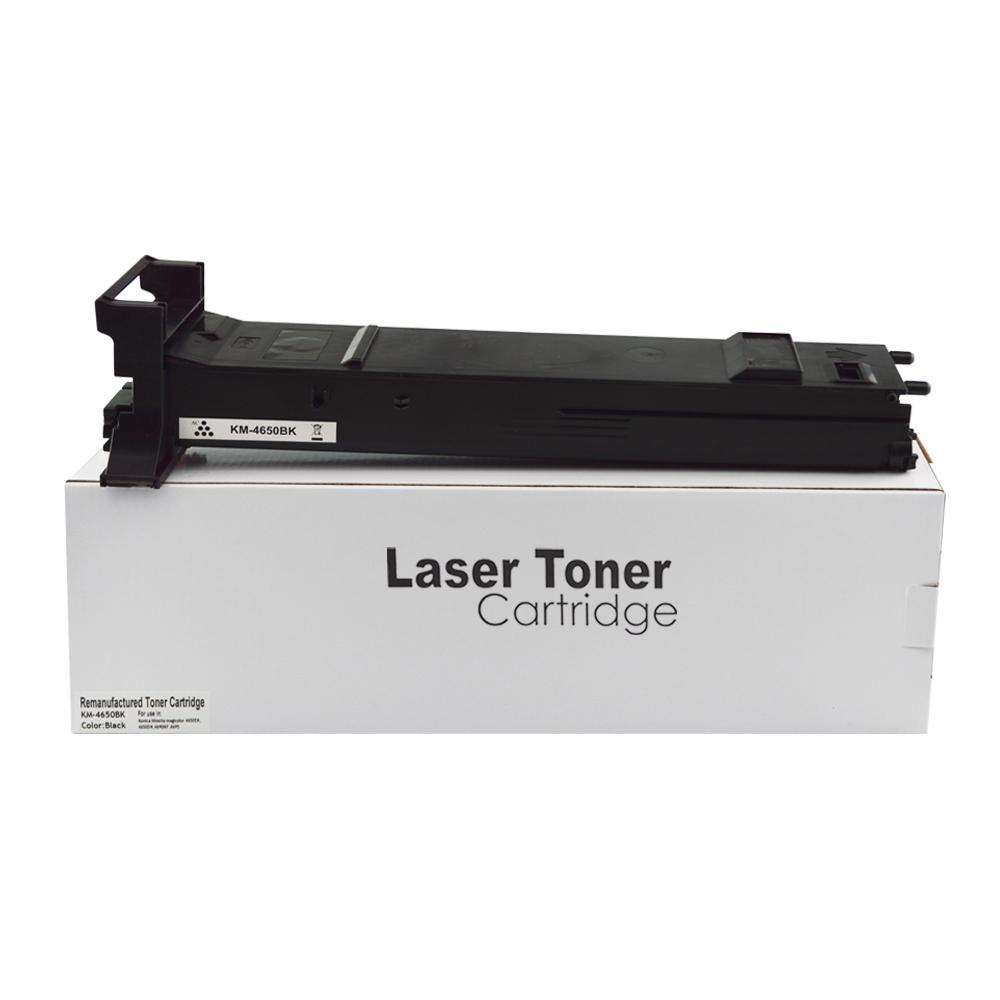Remanufactured Konica Minolta A0DK152 Black Toner Cartridge