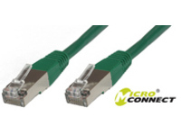 Microconnect SSTP CAT6 10M 10m Green networking cable