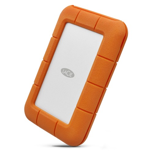 "LaCie STFR5000800 5TB Rugged Mini USB-C USB 3.0 2.5"" Portable External HDD"