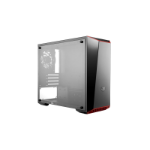 Cooler Master MasterBox Lite 3.1 Mini-Tower Black,Red,White computer case