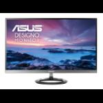 "ASUS Designo MZ27AQ 27"" Wide Quad HD LED Flat Grey computer monitor"