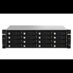 """QNAP TL-R1620Sdc HDD/SSD enclosure Black 2.5/3.5"""""""