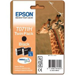 Epson Giraffe Twinpack Black T0711H DURABrite Ultra Ink