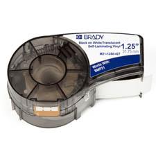 Brady 110929 Black, Translucent, White Self-adhesive printer label
