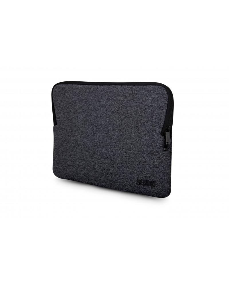 "Urban Factory MSM00UF maletines para portátil 30,5 cm (12"") Funda Negro"