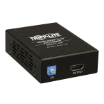Tripp Lite HDMI over Cat5/6 Active Extender, Box-Style Receiver for Video/Audio, 1080p @ 60 Hz w/ Intl. Power Supply, Up to 61 m