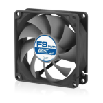 ARCTIC F8 PWM PST CO - PWM PST Case Fan for Continuous Operation