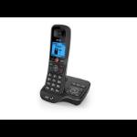 British Telecom BT 6600 Nuisance Call Blocker Single DECT telephone Caller ID Black, Silver