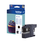 Brother LC-123BK Ink cartridge black, 600 pages, 11ml