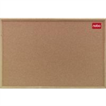Nobo Classic Cork Noticeboard Wood Frame 1800x1200mm