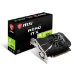 MSI nVidia GeForce GT 1030 AERO ITX 2GD4 OC Video Card, PCI-e 3.0, 1430 MHz Boost Clock, 1189 MHz Base C