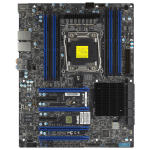 Supermicro X10SRA server/workstation motherboard LGA 2011 (Socket R) ATX Intel® C612