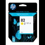 HP 82 Origineel Geel