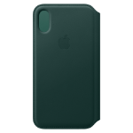 "Apple MRWY2ZM/A 5.8"" Folio Green mobile phone case"