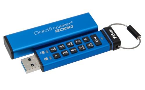 Kingston Technology DataTraveler 2000 16GB USB flash drive USB Type-A 3.2 Gen 1 (3.1 Gen 1) Blue