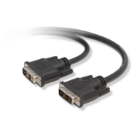 "Belkin F2E7171-14IN-SV DVI cable 14.4"" (0.366 m) DVI-D Black"