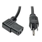 "Tripp Lite P006-006-13RA power cable Black 72"" (1.83 m) NEMA 5-15P C13 coupler"