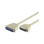 Microconnect DB25/CEN36 5m M/M 5m White parallel cable