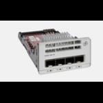 Cisco C9200-NM-4X network switch module 10 Gigabit Ethernet, Gigabit Ethernet
