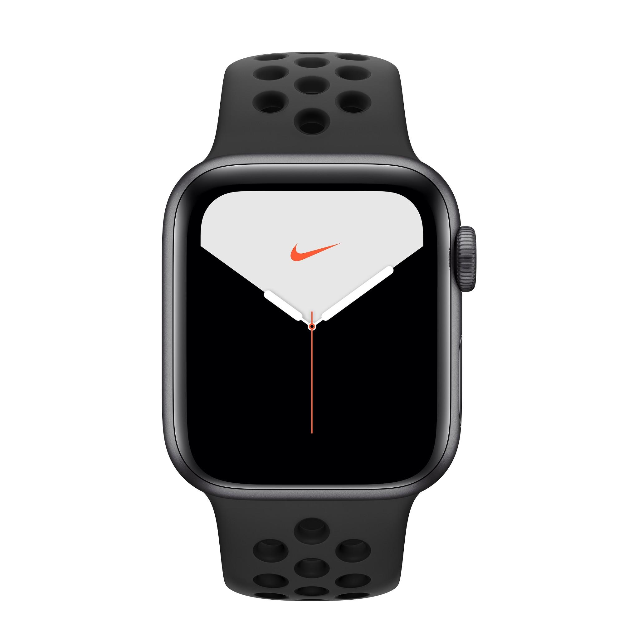 Apple Watch Nike Series 5 smartwatch Grey OLED GPS satellite