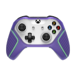 OtterBox Easy Grip Gaming Controller Series for Microsoft XBOX Controller Gen 8, Galactic Dream Purple/Glow in the Dark