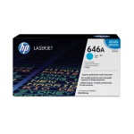 HP 646A Origineel Cyaan 1 stuk(s)