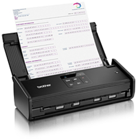 Brother ADS-1100W ADF scanner 600 x 600DPI A4 Black scanner