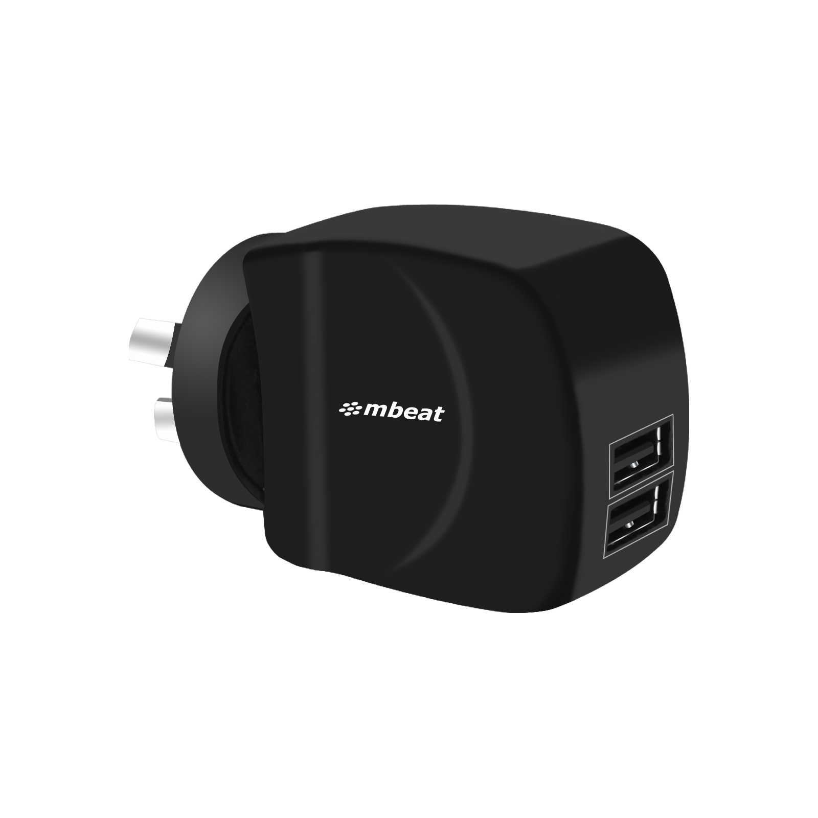 mBeat Gorilla Power Duo 3.4A Dual USB Ports Smart Charger