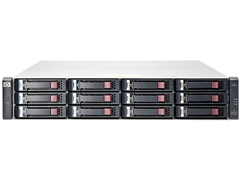 Hewlett Packard Enterprise MSA 2040 Energy Star LFF Disk Enclosure Rack (2U) disk array