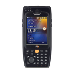 "M3 Mobile OX10 - 1G RFID 3.5"" 320 x 240pixels Touchscreen 362g Black handheld mobile computer"