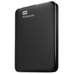 Western Digital WD Elements Portable 2.5 Inch externe HDD 750GB, Zwart