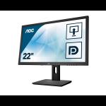 "AOC Pro-line E2275PWQU pantalla para PC 54,6 cm (21.5"") Full HD LED Plana Mate Negro"