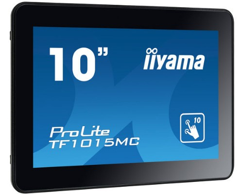 "iiyama TF1015MC-B2 touch screen monitor 25.6 cm (10.1"") 1280 x 800 pixels Black Multi-touch"