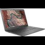 """HP Chromebook 14-db0500sa Blue 35.6 cm (14"""") 1366 x 768 pixels 7th Generation AMD A4-Series APUs 4 GB DDR4-SDRAM 32 GB eMMC Wi-Fi 5 (802.11ac) Chrome OS"""