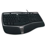 Microsoft Natural Ergonomic 4000 UK keyboard USB QWERTY