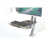 Digitus DA-90381 multimedia cart/stand Metallic Flat panel