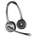 Plantronics WH350/A Savi OTH Dect Binaural Head-band Black headset 83322-12