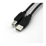 VCOM CU201-B-1.8 USB cable 1.8 m USB A USB B Black
